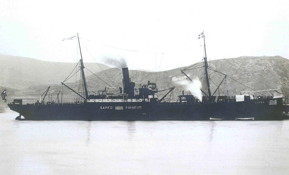 Several steamships followed, many of which were lost through enemy action during the Balkan War and World Wars I and II. Constantinos J. Hadjipateras died aged 87 in occupied Chios in 1943.